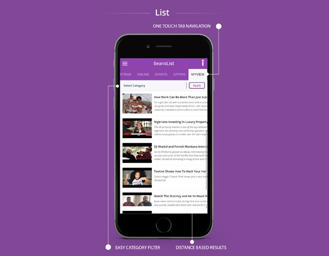 Business Directory Iphone App