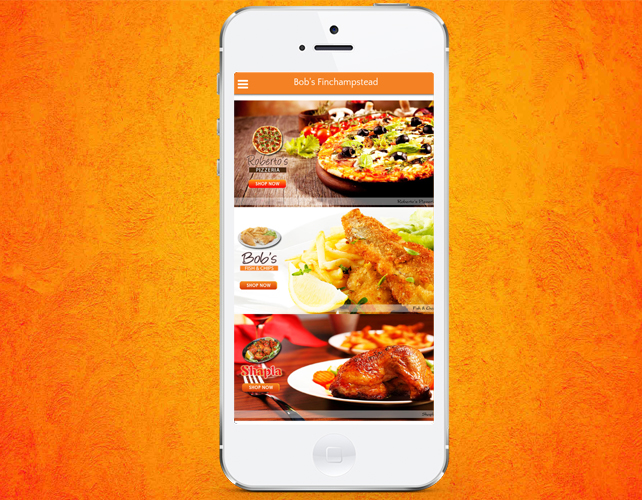 Restaurants & Takeaway Iphone App