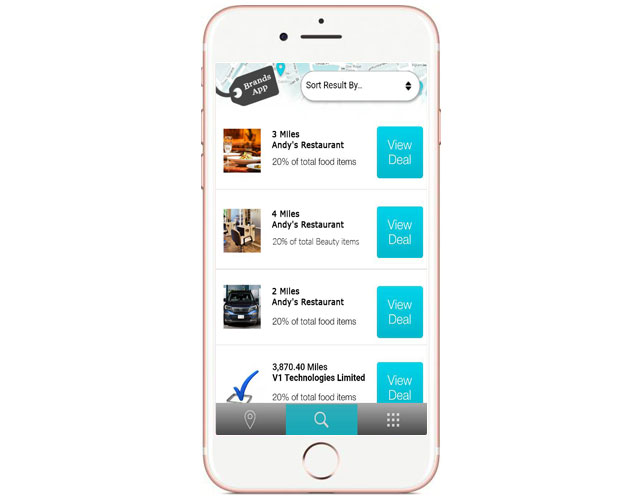 Offers Based Iphone App