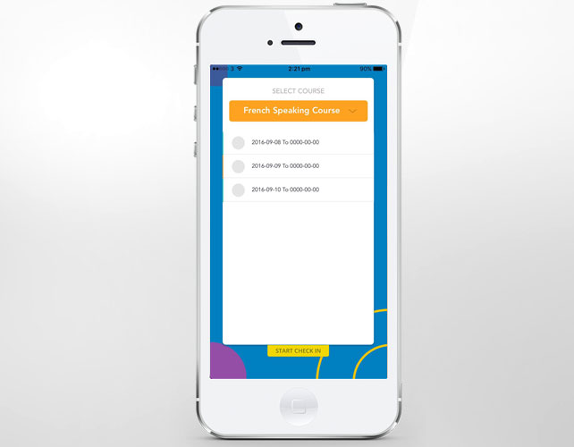 Iphone App of Event registration and management System