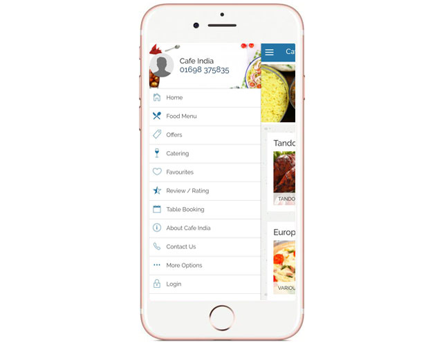 Iphone App For Takeaway Business