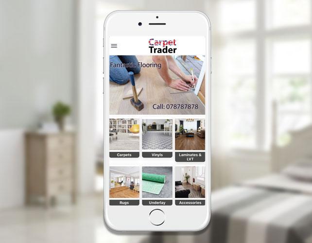 Carpet Trader iPhone App
