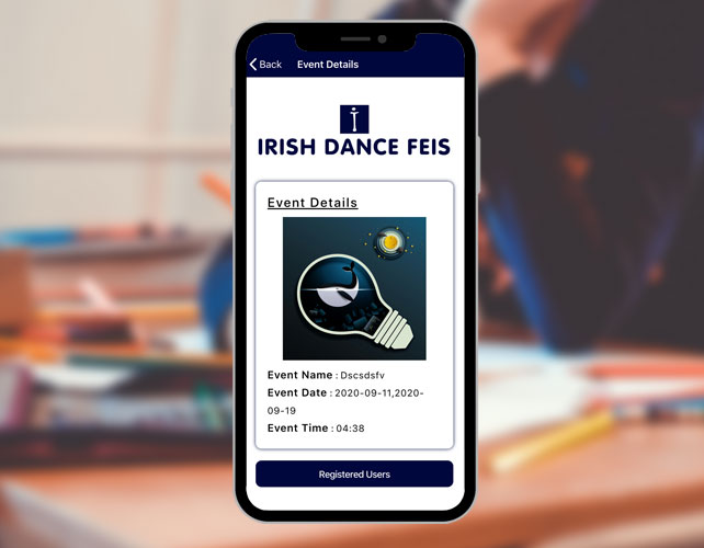 UK Events Based iPhone App