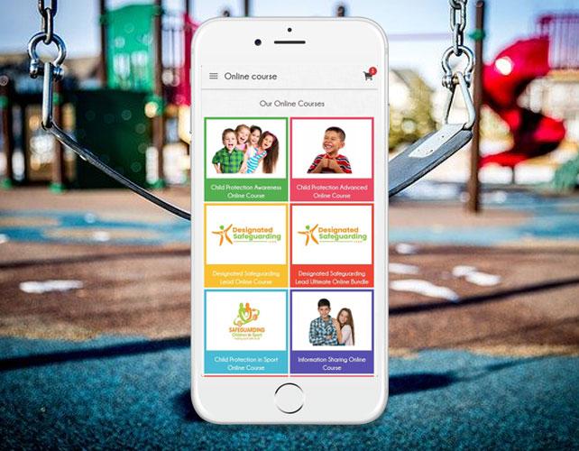 Safeguarding Children Training iPhone App