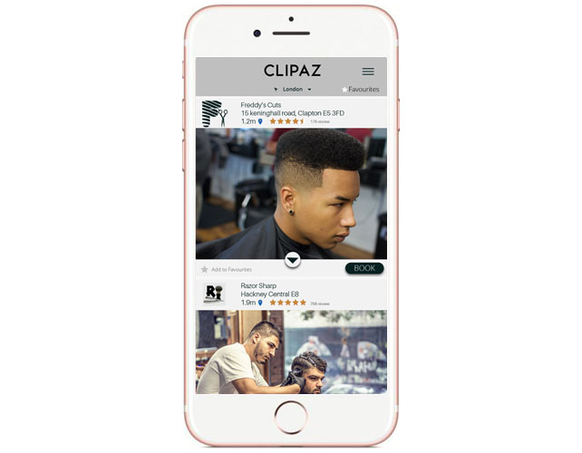 Barbers Iphone App Design
