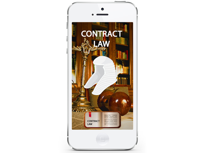 Contract Law iphone app