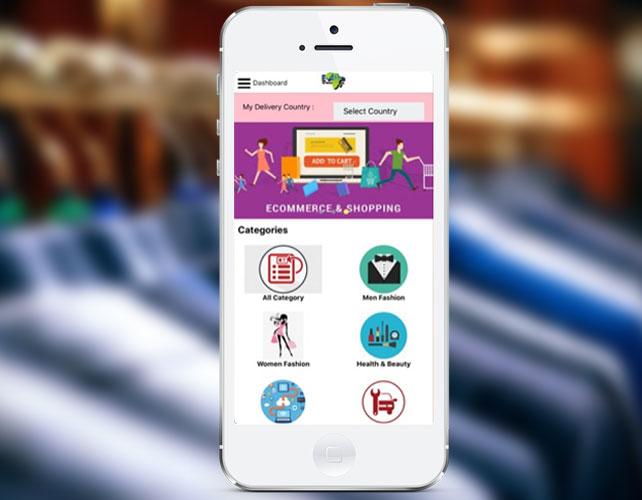 E-commerce Shopping iPhone App