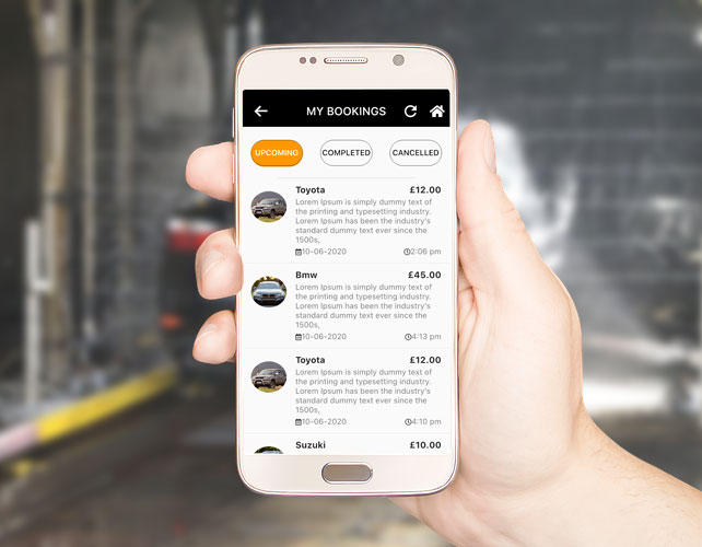 Car Detailing Business Android App