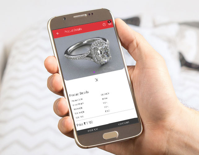 Android App of jewelry Business