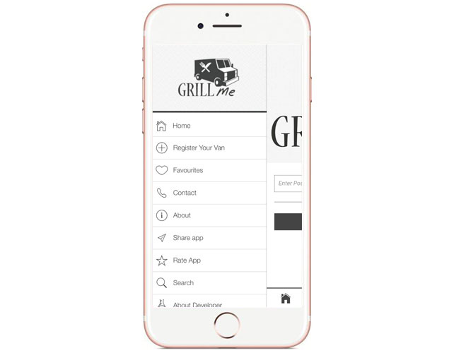 Iphone App to search Food Vans