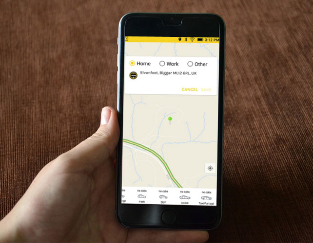 Taxi & Private Hire App