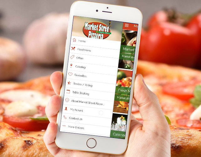 Pizzas or Fresh Max Restaurant app