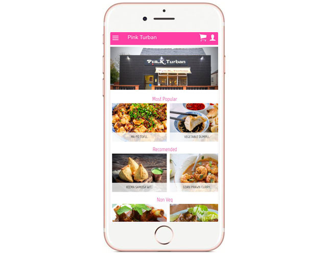 Restaurant Business Iphone App