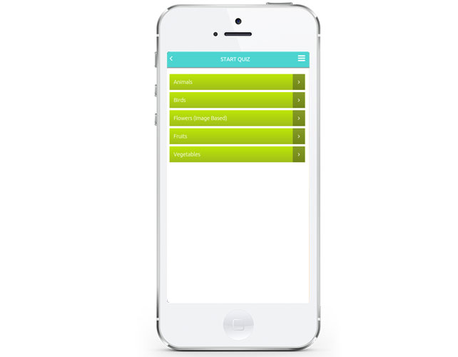 iPhone Quiz Game App