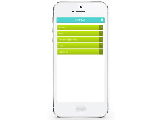 iPhone Quiz Game App