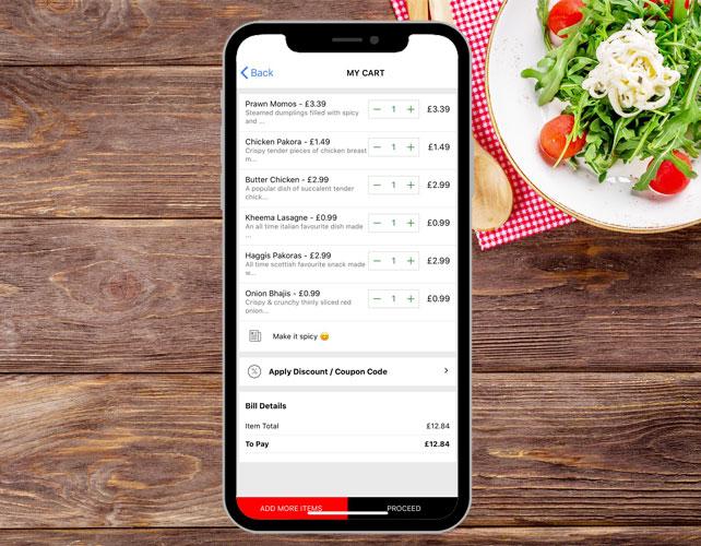 Restaurants Takeaways iPhone App