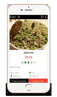 Iphone App of Restaurant Business