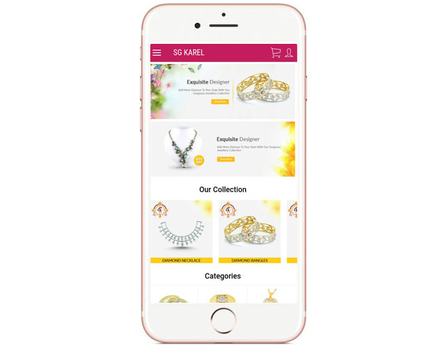 Best Jewellery Product Iphone App