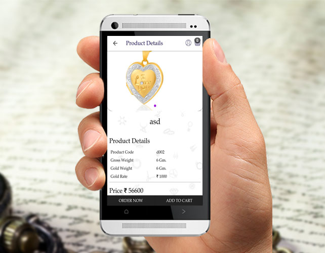 Jewellery Android App