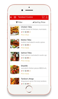Restaurants and Takeaways Business App