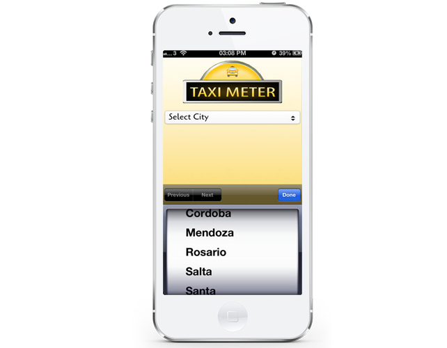Taxi Fare Calculation App