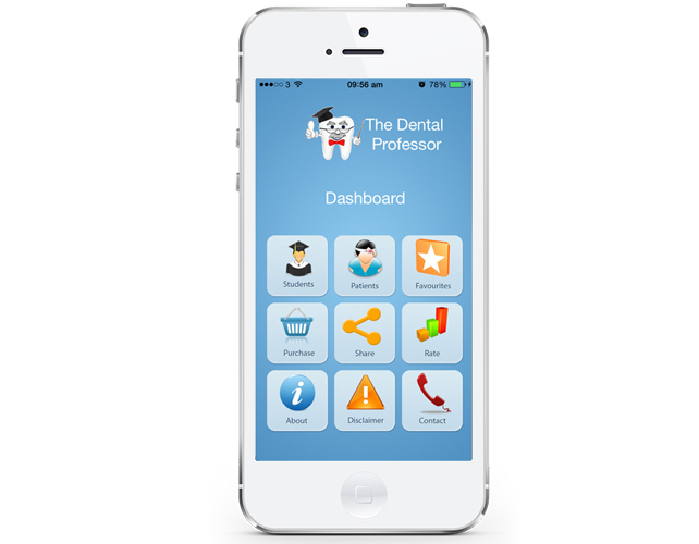 iphone App for Dental Students