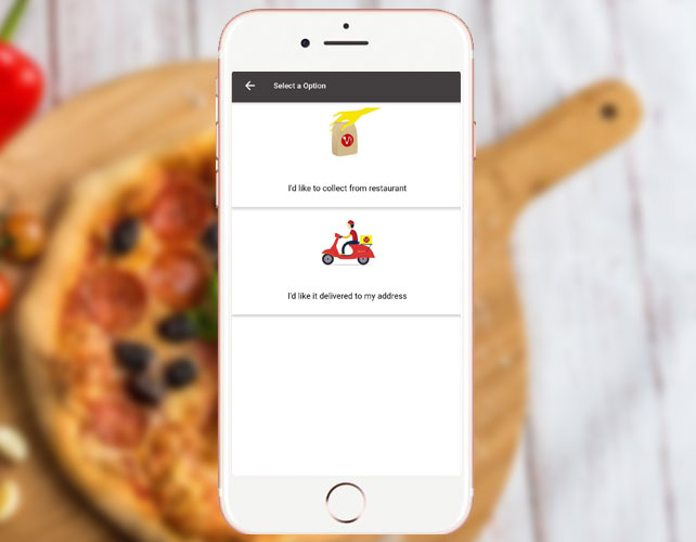 Pizza Delivery iPhone App