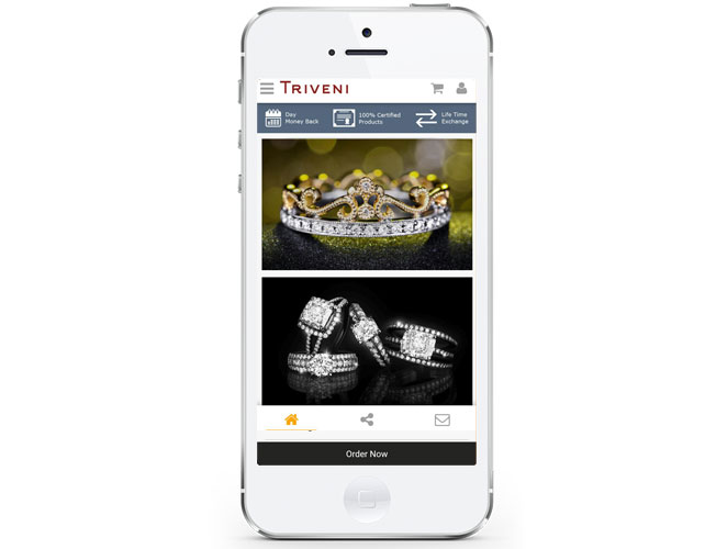 Jewellery Iphone App Design
