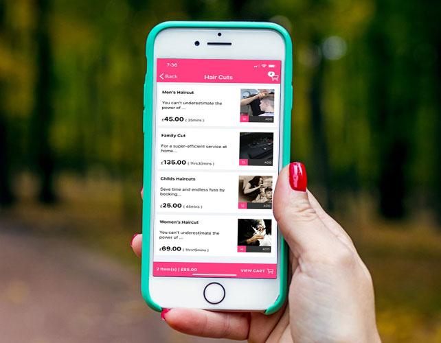 Hair Makeup & Beauty Services iPhone App