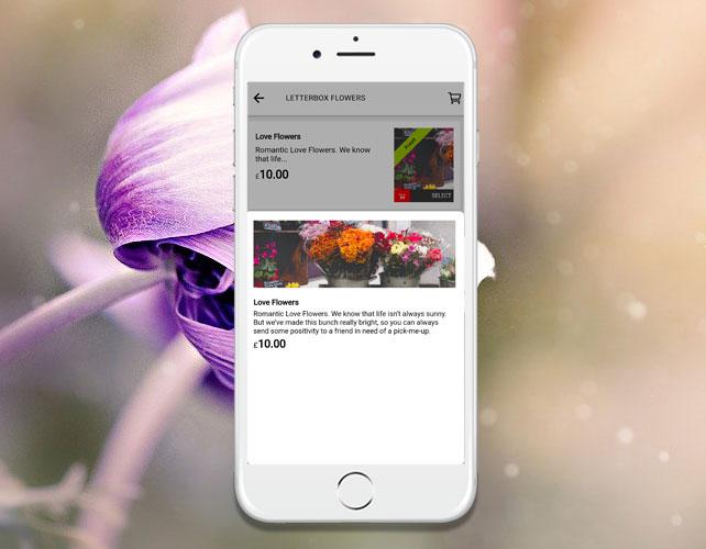 Online Flowers Ordering iPhone App