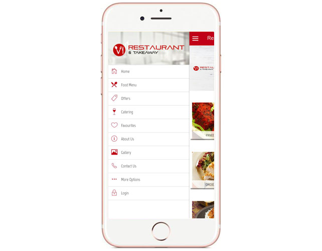 Restaurants and Takeaways App