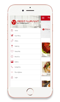 Restaurants and Takeaways App