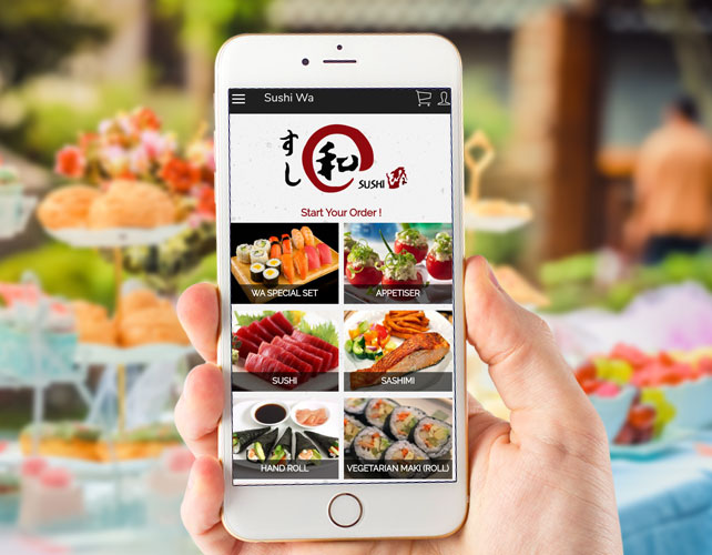 DELICIOUS SUSHI FOOD IPHONE APP