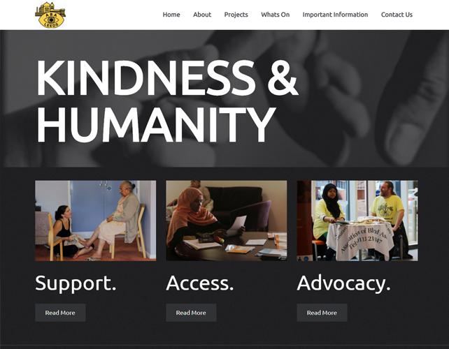 Association of Blind Asians Website