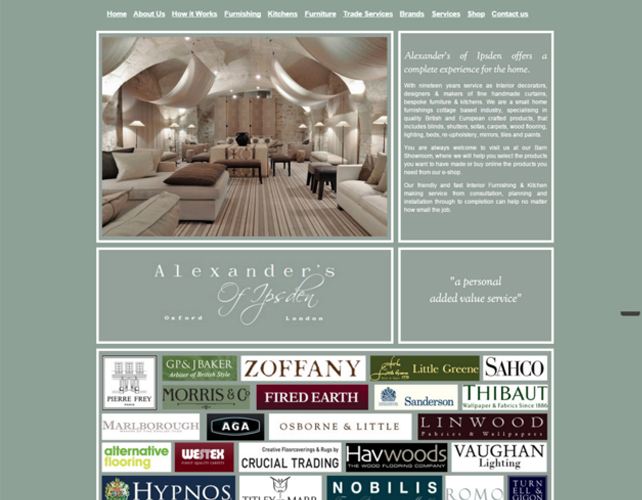 Interior Designers Website