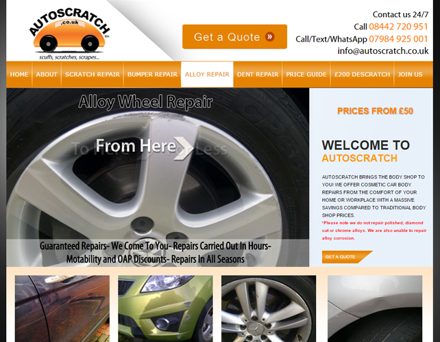 SEO Friendly Website for Car Repair & Garage Business