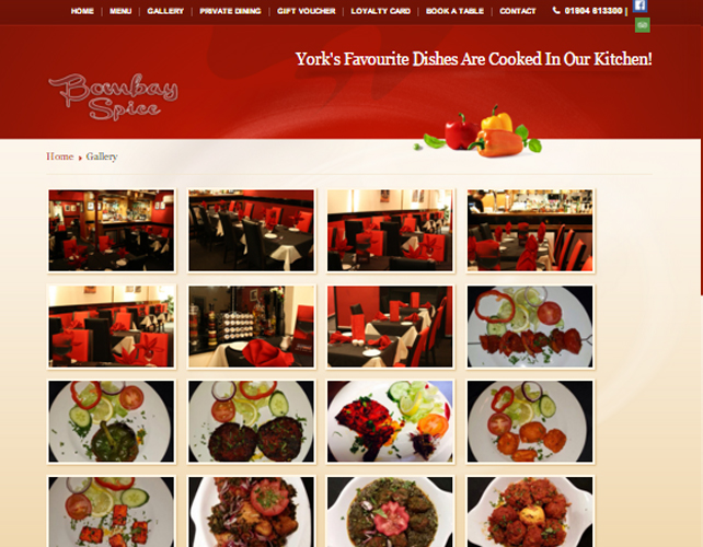 Website Design for Restaurants UK