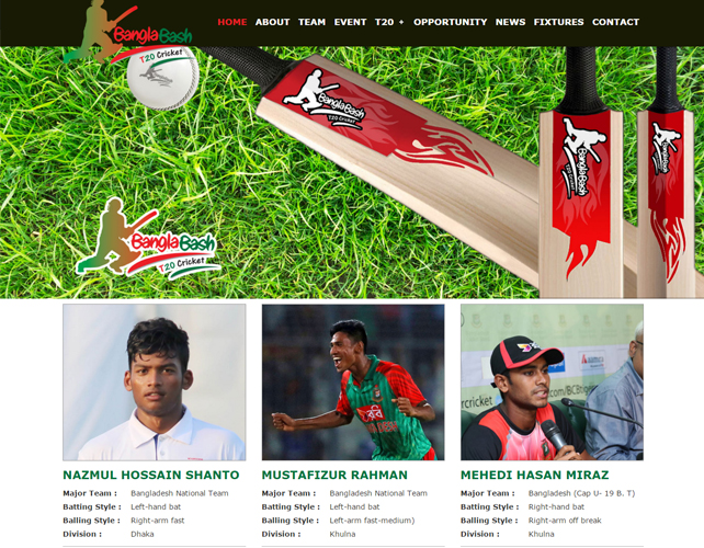 Cricket Awards Website