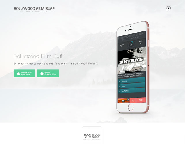 Movie Quiz Website Design