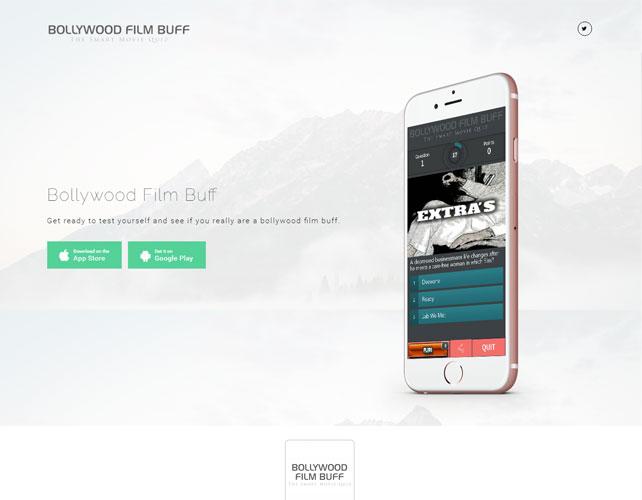 Movie Quiz Website Design