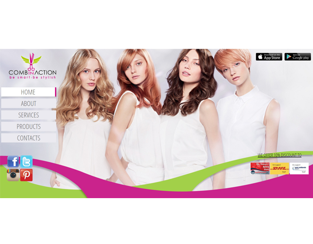 Italian Beauty salon Website