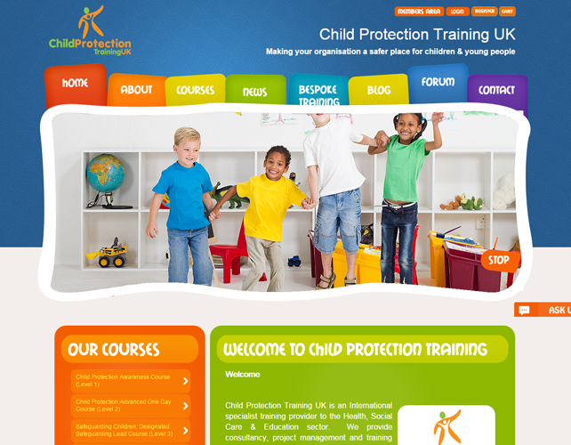 Child Safety Company Website