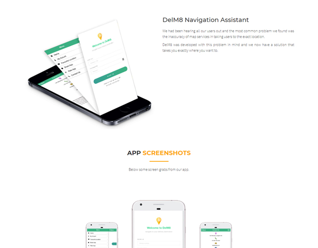 Location and navigation app