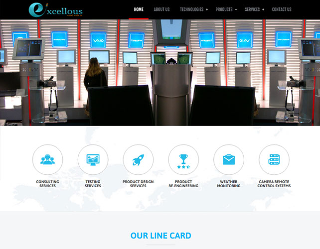 Electronic Product Design Website