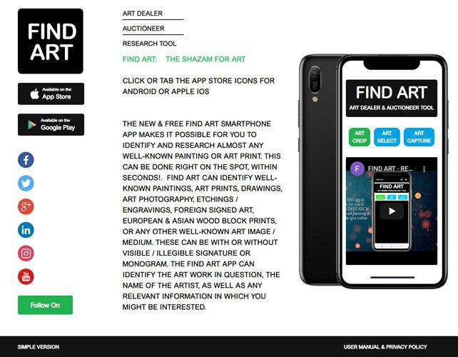 Art Dealer & Auctioneer Website