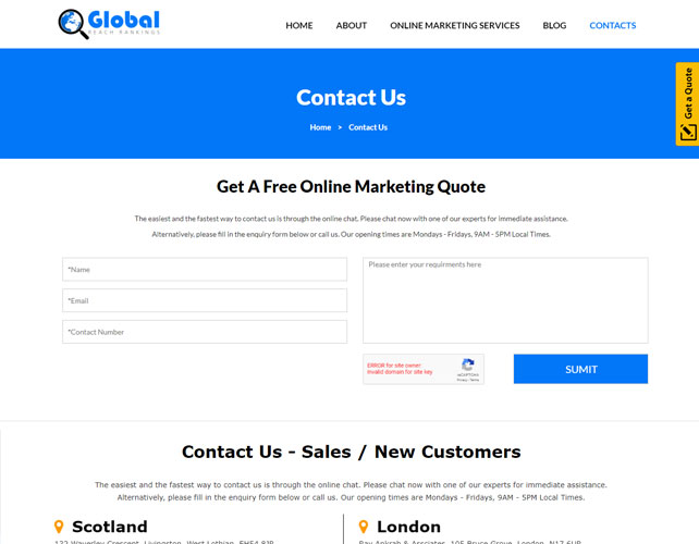 SEO Company Website
