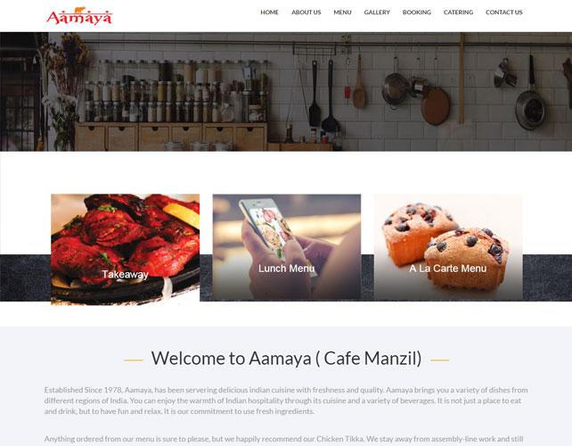 Restaurants Business Website Design