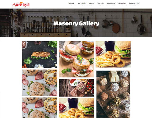 Restaurants Business Website Design