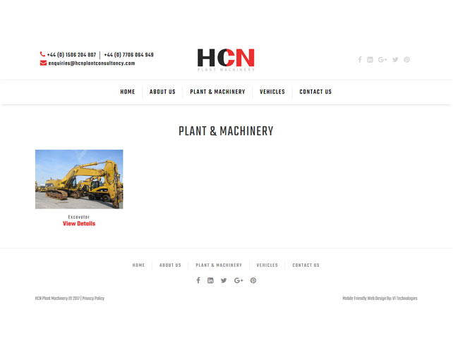 Vehicles services & sales Website