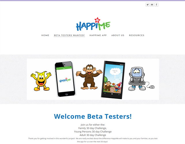 Coaching & HappiTapping Website
